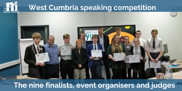 WEST CUMBRIA SCHOOL SPEAKING COMPETITION