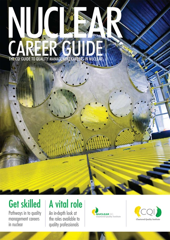 CQI Nuclear Quality Career Guide Cover