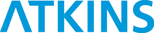 Atkins light blue logo