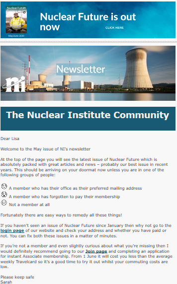 May Newsletter cover 2