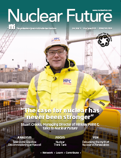Nuclear Future cover May June