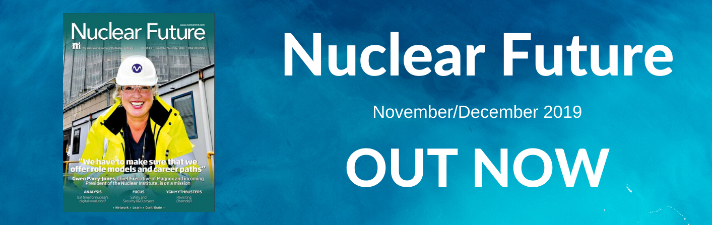 Nuclear Future banner Nov.Dec